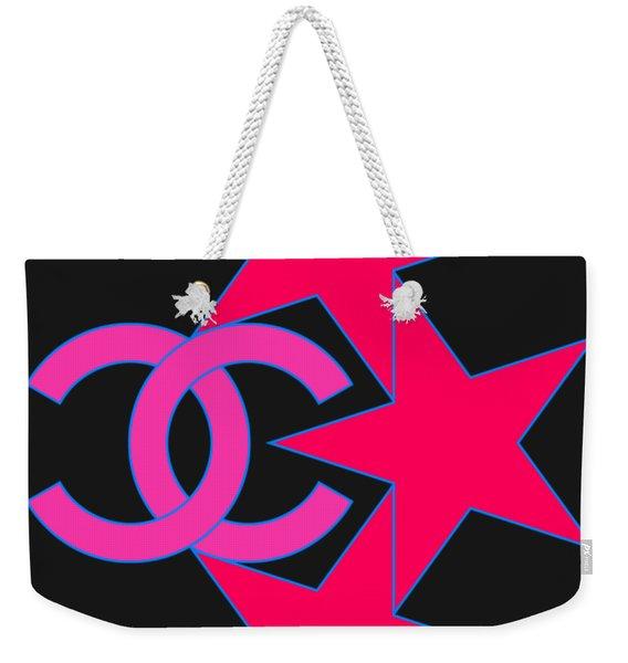 Chanel Stars-9 Weekender Tote Bag