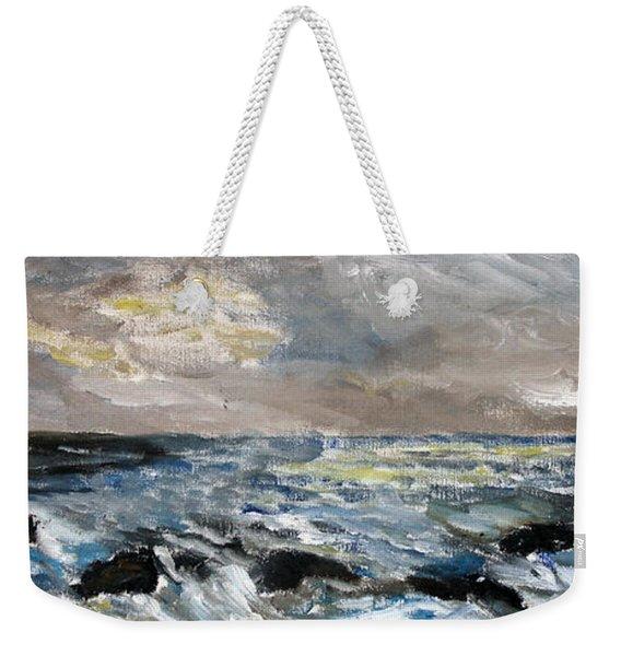 Changing Tide Weekender Tote Bag