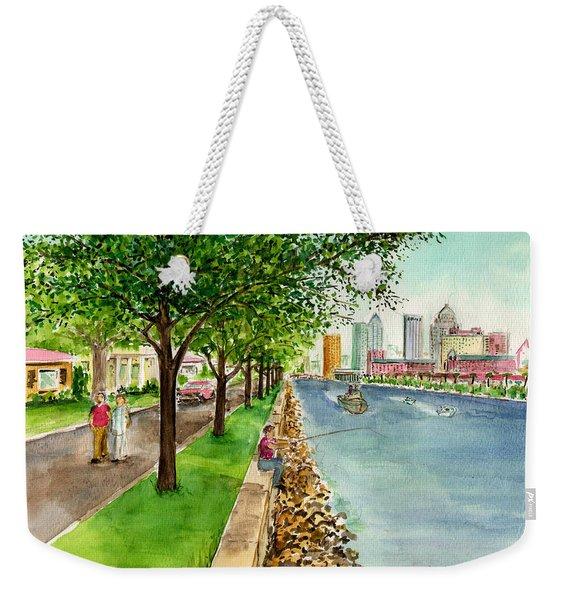 Channel Drive Tampa Florida Weekender Tote Bag