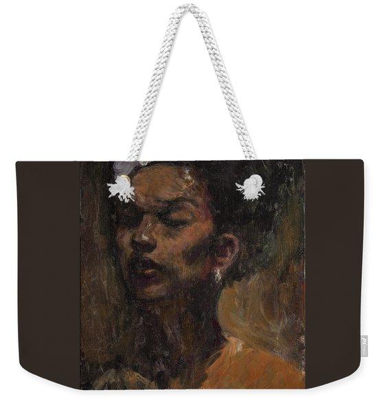 Chanteuse Weekender Tote Bag