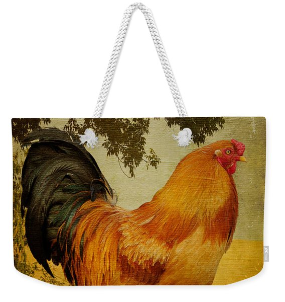 Chanticleer Weekender Tote Bag