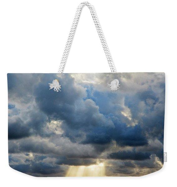 Celestial Light Weekender Tote Bag