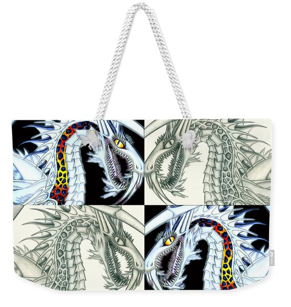 Chaos Dragon Fact Vs Fiction Weekender Tote Bag