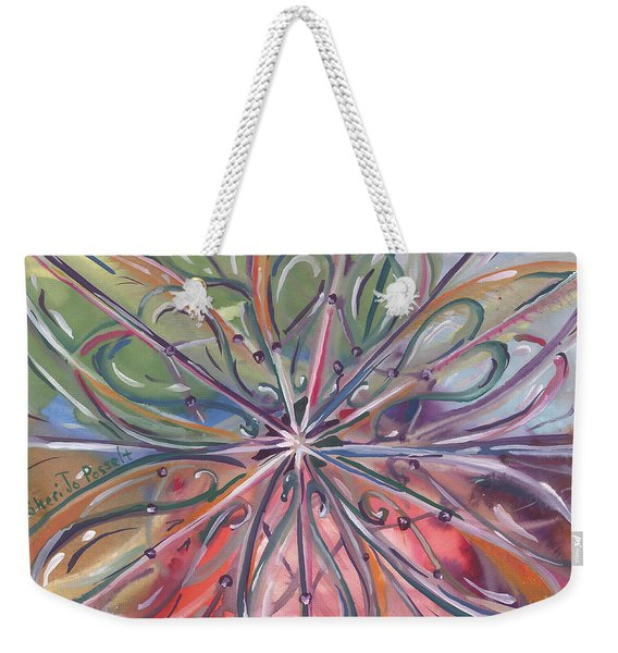 Chaotic Beauty Weekender Tote Bag
