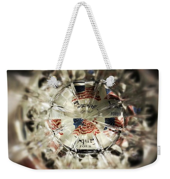 Chaotic Freedom Weekender Tote Bag
