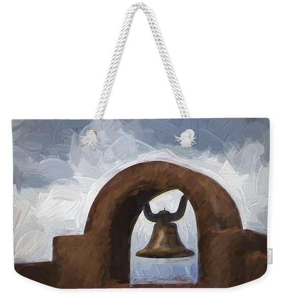 Chapel Bell Chimayo Painterly Effect Weekender Tote Bag