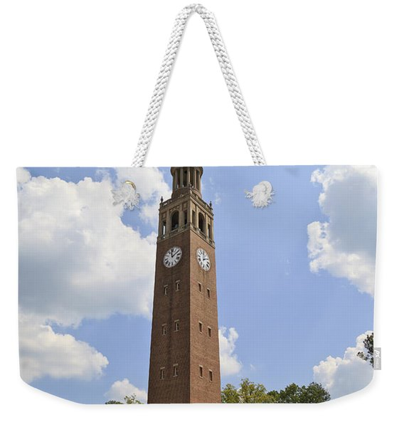 Chapel Hill Bell Tower Weekender Tote Bag