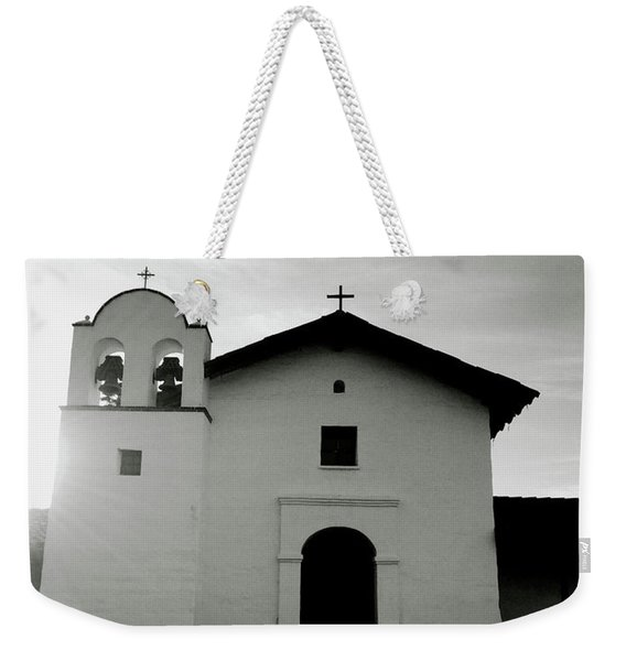 Chapel In The Shadows- Art By Linda Woods Weekender Tote Bag