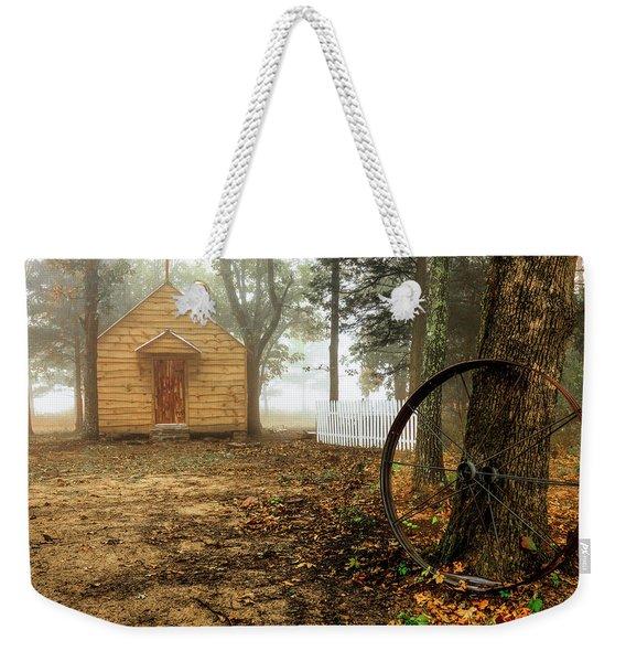 Chapel In The Woods 1 Weekender Tote Bag