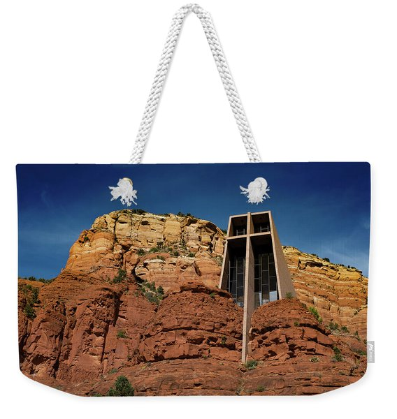 Chapel Of The Holy Cross Weekender Tote Bag