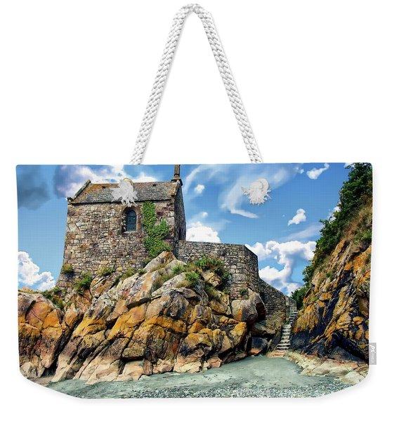 Chapel Saint-aubert Weekender Tote Bag