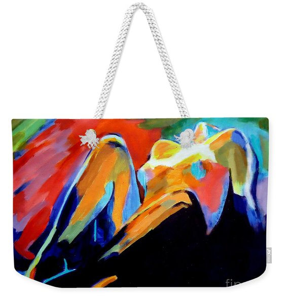 Charge Of The Soul Weekender Tote Bag