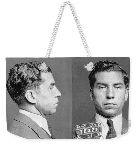 Charles Lucky Luciano Weekender Tote Bag