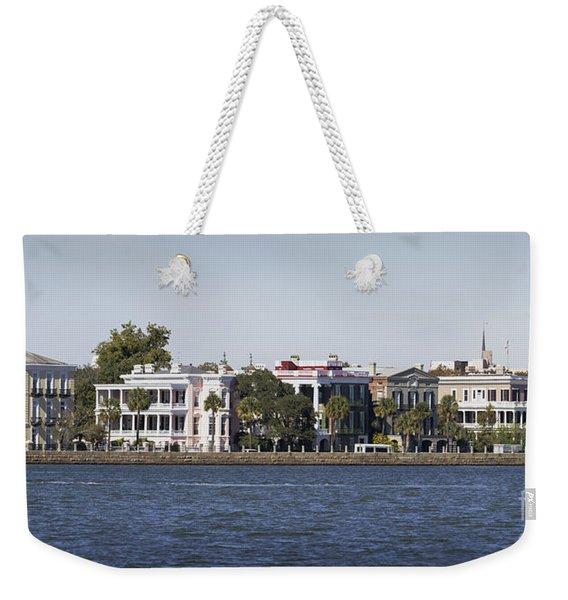 Charleston Battery Row Panorama 2 Weekender Tote Bag