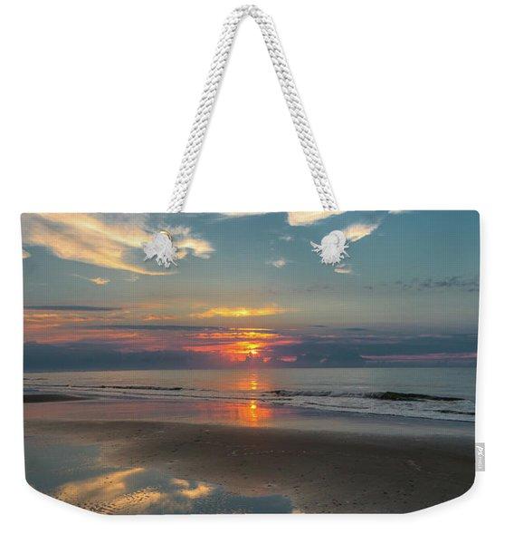 Charleston Coast Sunrise Weekender Tote Bag