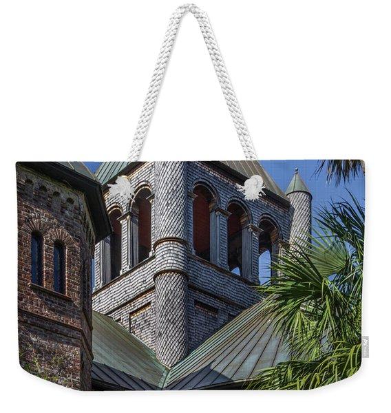 Charleston Historic Church Weekender Tote Bag