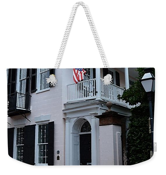 Charlestons Cobble Stone Weekender Tote Bag