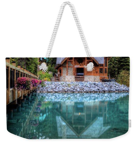 Charming Lodge Emerald Lake Yoho National Park British Columbia Canada Weekender Tote Bag