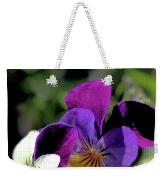 Charming Viola Weekender Tote Bag