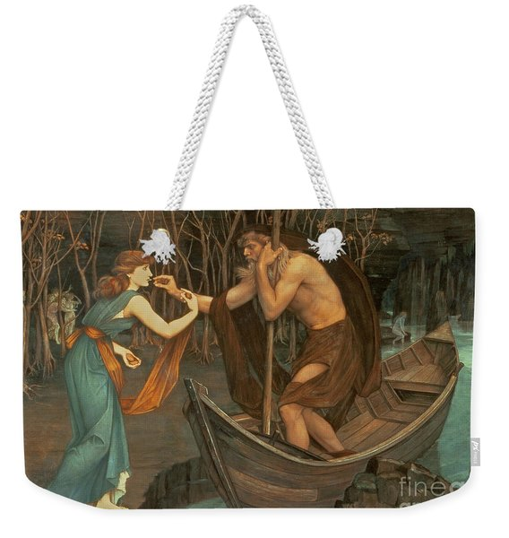 Charon And Psyche Weekender Tote Bag