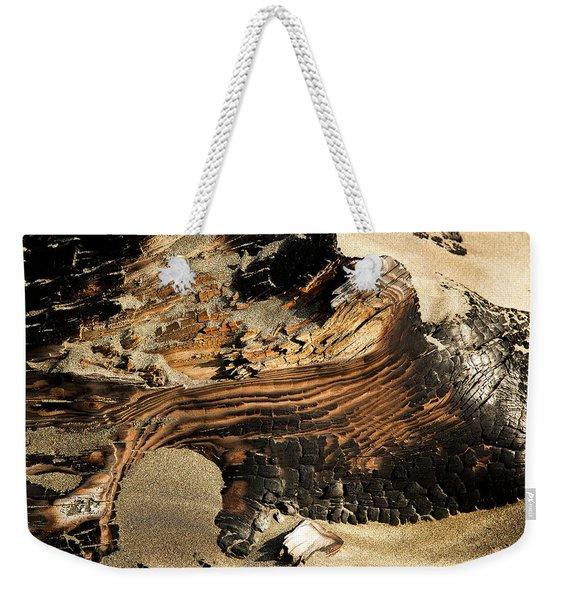 Charred Weekender Tote Bag