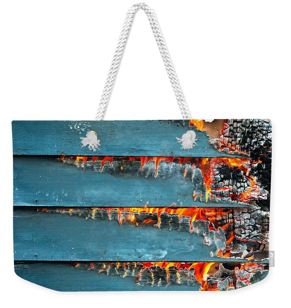 Charred Remains Weekender Tote Bag