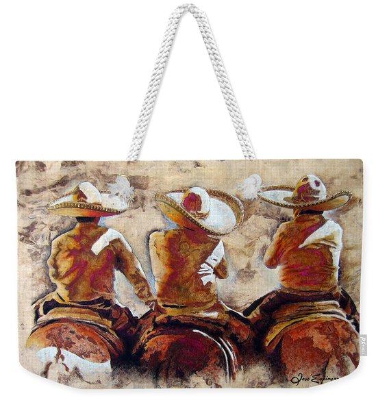 3 . C H A R R O  . F R I E N D S Weekender Tote Bag