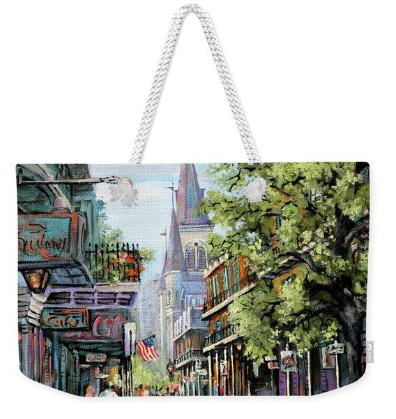 Chartres Rain Weekender Tote Bag