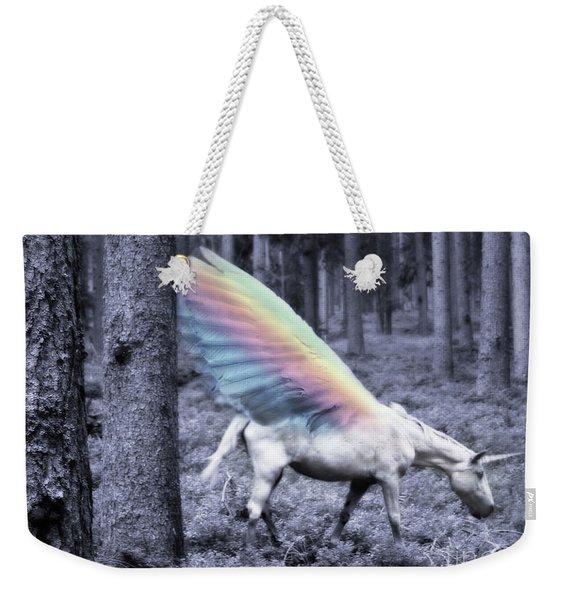 Chasing The Unicorn Weekender Tote Bag