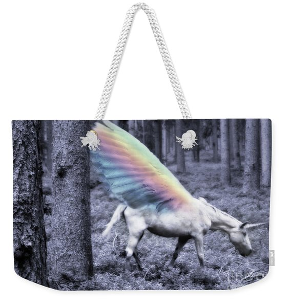 Chasing The Unicorn Weekender Tote Bag