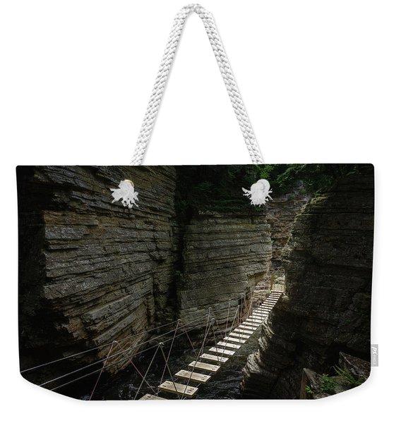 Chasm Bridge Weekender Tote Bag