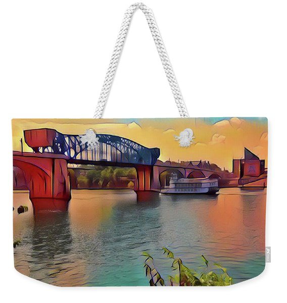 Chatta Choo Choo Weekender Tote Bag