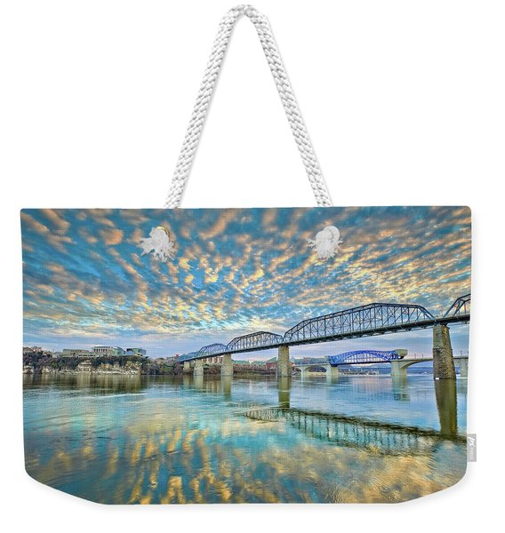 Chattanooga Has Crazy Clouds Weekender Tote Bag