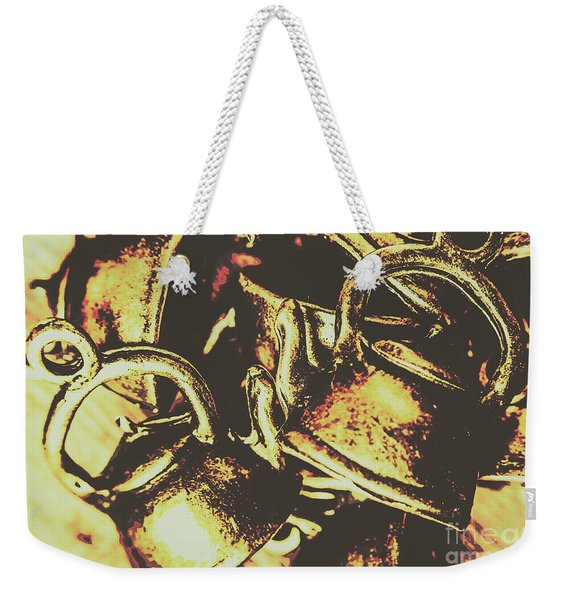 Cheers To A Messy Kitchen Weekender Tote Bag