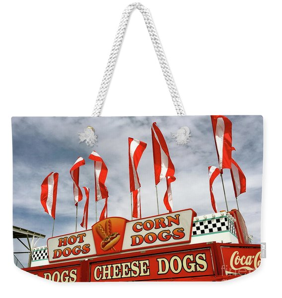 Cheese Dogs Galore Weekender Tote Bag