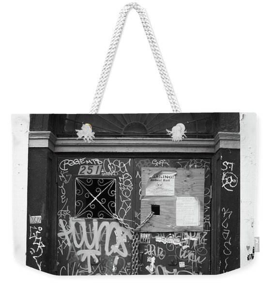 Chelsea Doorway Nyc Weekender Tote Bag