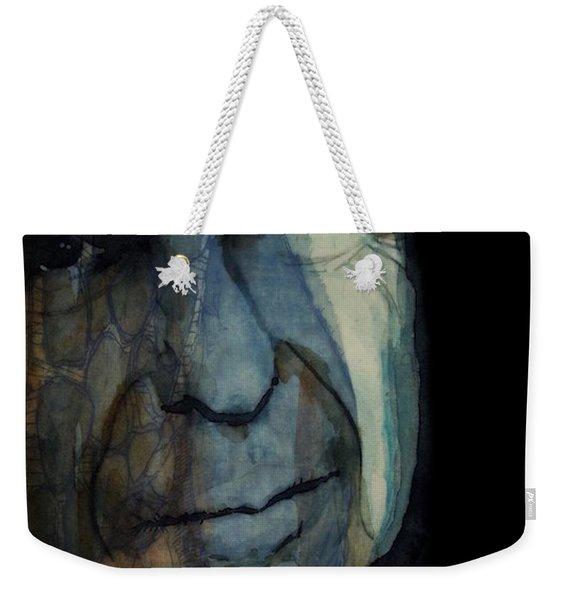 Chelsea Hotel - Leonard Cohen  Weekender Tote Bag