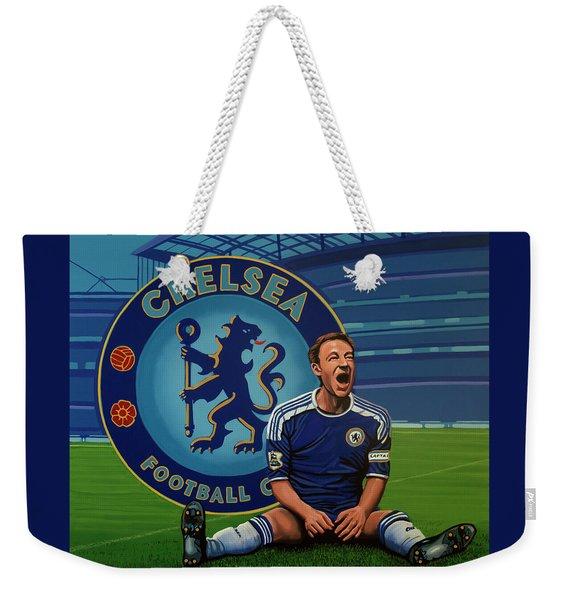 Chelsea London Painting Weekender Tote Bag