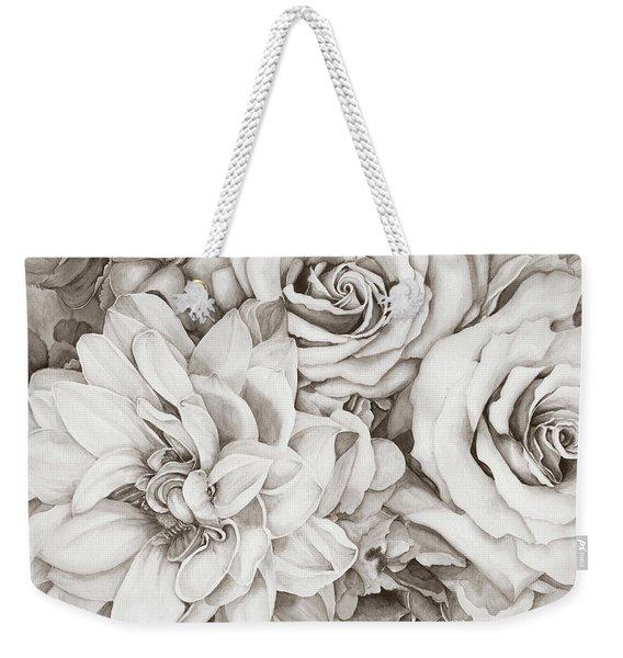 Chelsea's Bouquet - Neutral Weekender Tote Bag