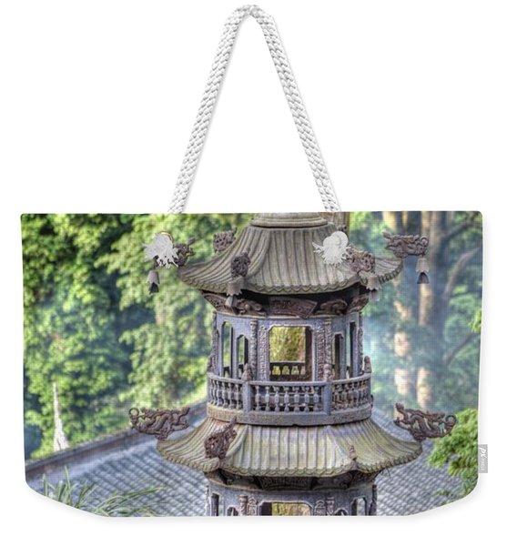 Chendu China Temple Weekender Tote Bag