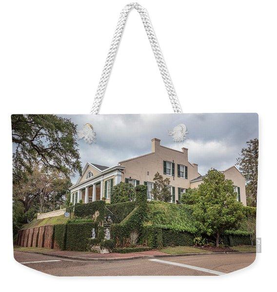 Cherokee House Natchez Ms Weekender Tote Bag