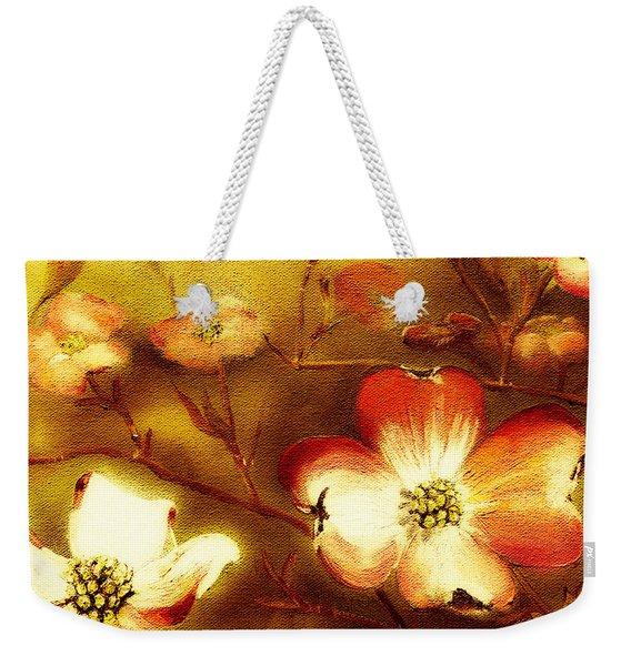 Cherokee Rose Dogwood - Glow Weekender Tote Bag
