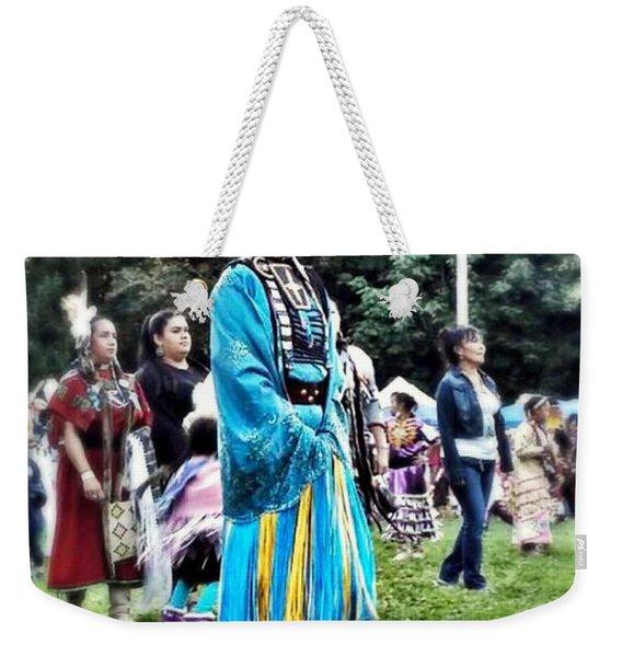 Cherokee Warrior Weekender Tote Bag