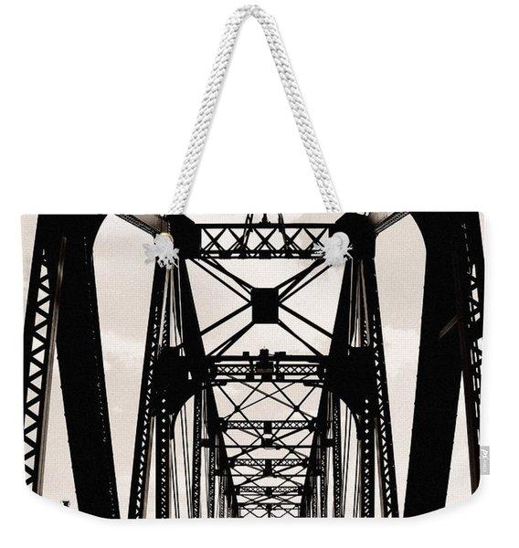 Cherry Avenue Bridge Weekender Tote Bag