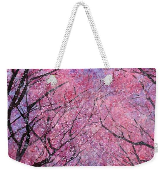 Cherry Blast Weekender Tote Bag
