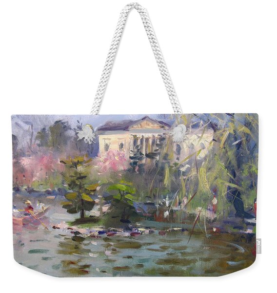 Cherry Blossom Festival Buffalo Weekender Tote Bag
