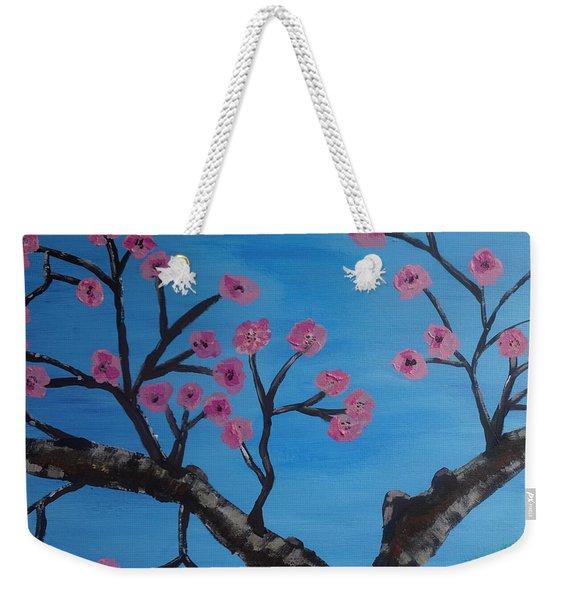 Cherry Blossoms II Weekender Tote Bag