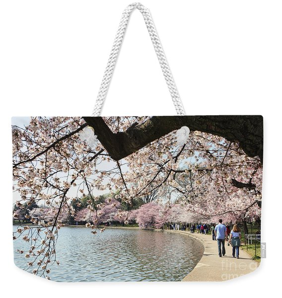 Cherry Blossom Stroll Around The Tidal Basin Weekender Tote Bag