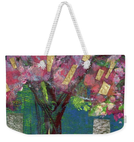 Cherry Blossom Too Weekender Tote Bag