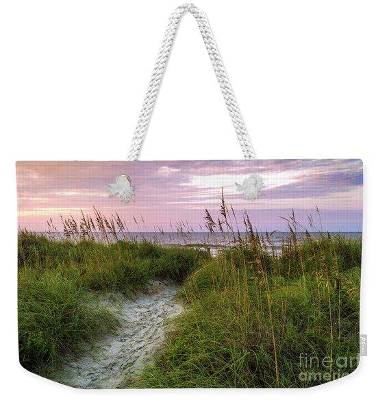 Cherry Grove Beach Scene Weekender Tote Bag